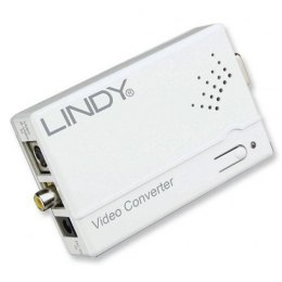 Konwerter composite, S-video na VGA Lindy 32629